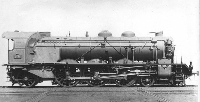 Locomotive Pacific 231